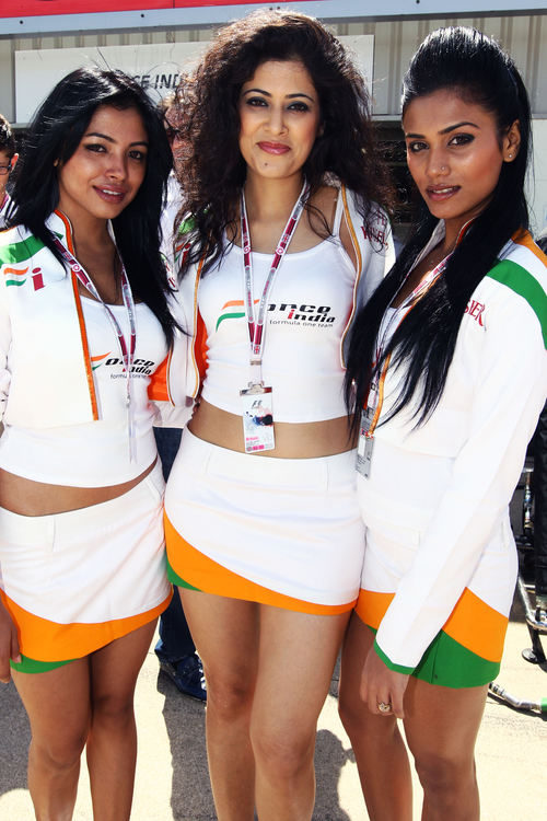Las divas de Force India