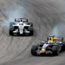 Webber y Rosberg