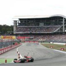 Hamilton en el GP de Alemania