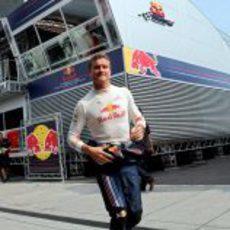 Coulthard en Hungría