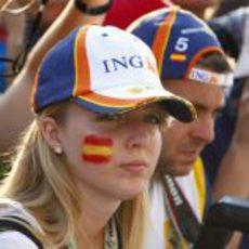 Una fan española