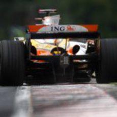 Alonso en pista