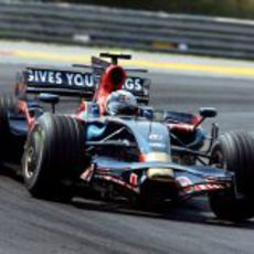 Vettel en pista