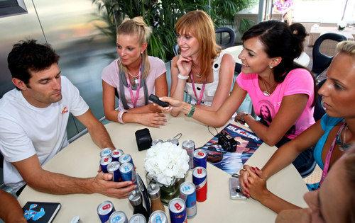 Webber y sus chicas