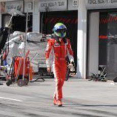 Massa muy decepcionado con su Ferrari