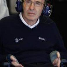 Williams observa a sus pilotos
