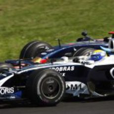 Rosberg y Bourdais