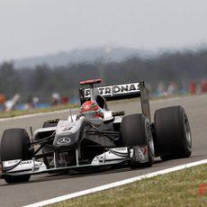 Schumacher calificó 5º