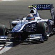 Nico Hülkenberg en su primer Gran Premio turco
