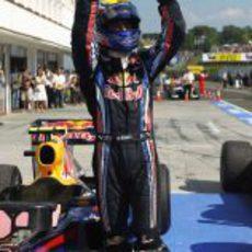 Webber es el primero