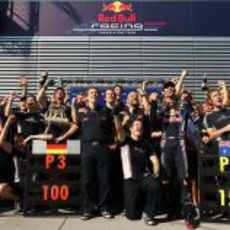 El equipo Red Bull