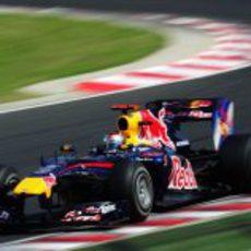 Vettel acaba tercero