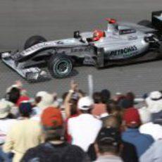 Schumacher vuelve al Gilles Villeneuve