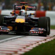 Vettel saldrá 3º en Montreal