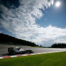Schumacher no entra en la Q3