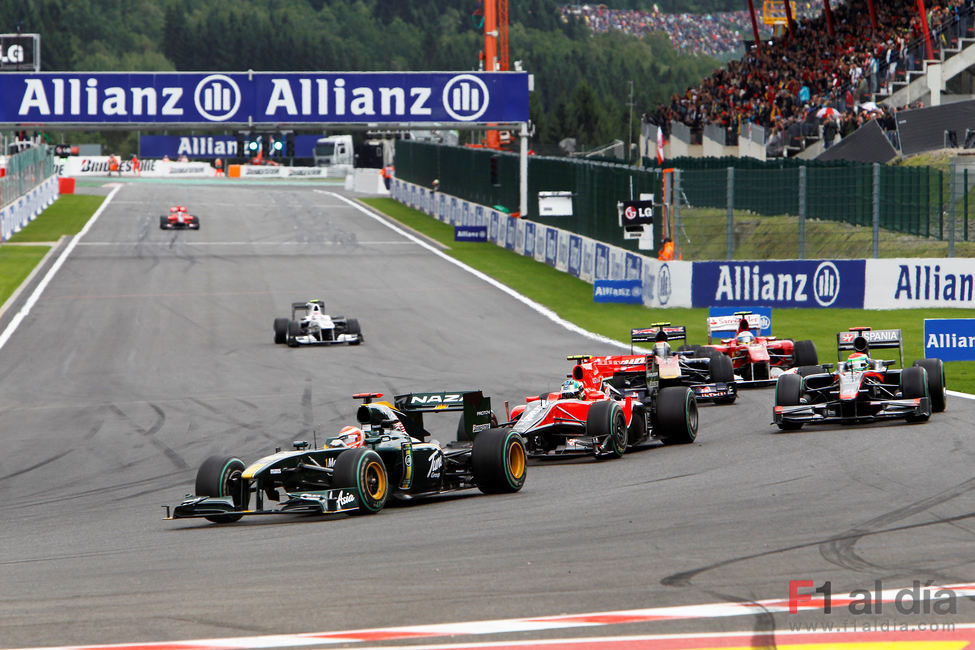 Trulli en el GP de Bélgica