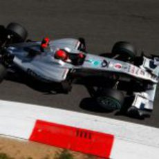 Schumacher en la pista