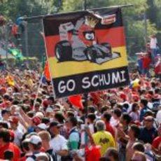 Los aficionados de Schumacher