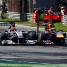 Schumacher y Webber
