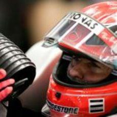 Schumacher con calor