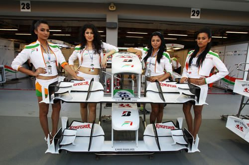Las chicas de Force India
