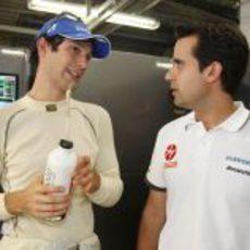 Senna en boxes