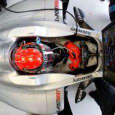 Schumacher en su Mercedes