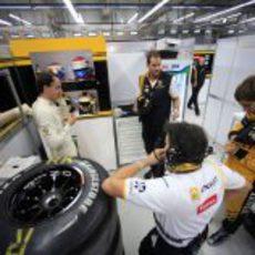 Kubica y Petrov