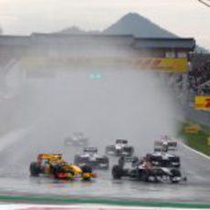 Schumacher en Corea