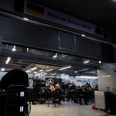 El equipo Mercedes