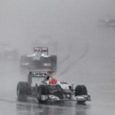 Schumacher en el GP de Corea