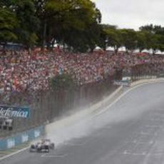 Schumacher en Interlagos