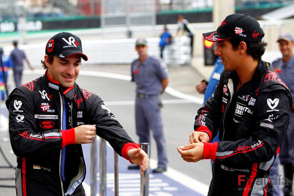 Glock y Di Grassi