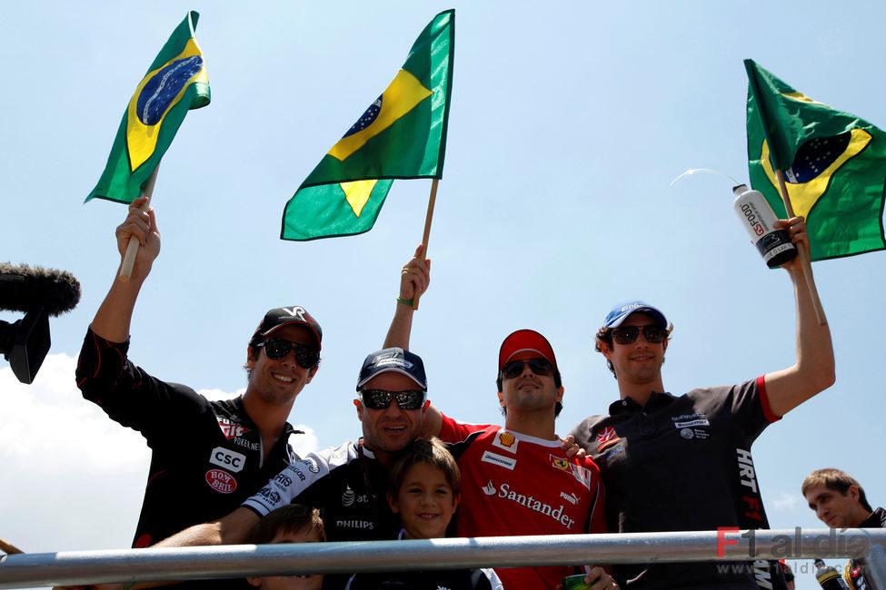 Los 4 brasileños