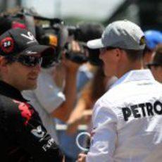 Glock y Schumacher