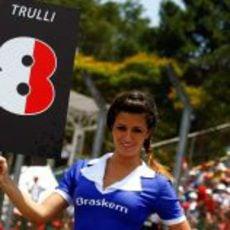 La brasileña de Trulli