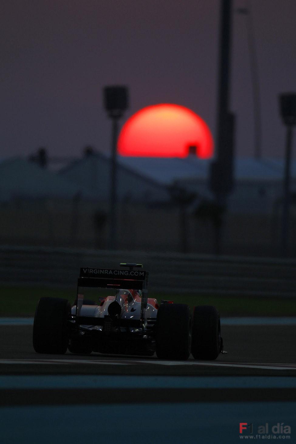 El sol se oculta al paso de Lucas di Grassi