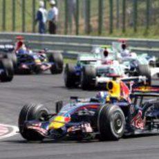 Coulthard en el GP de Hungría