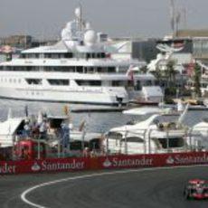 Kovalainen en el GP de Europa