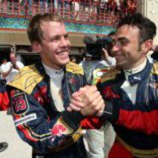 Vettel está muy contento