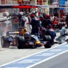 Coulthard sale de boxes