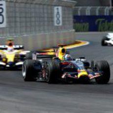 Coulthard ante Nelsinho