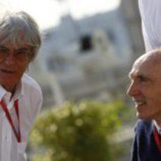 Williams y Ecclestone