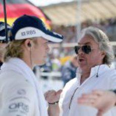 Rosberg y su padre