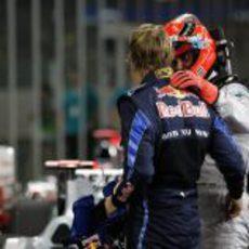 Schumacher felicita a Vettel
