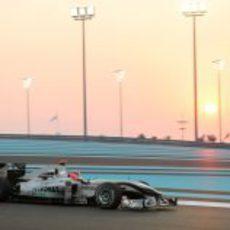 Schumacher en los libres del viernes