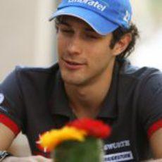 Senna se relaja
