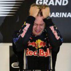 Vettel no se lo cree