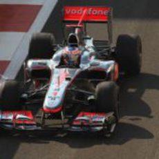 Primera sesión de libres para Button
