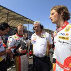 Grosjean asciende a titular en el Gran Premio de Europa